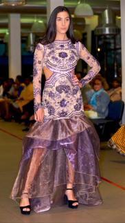 Fotograaf: Alexander Conceicão MUA: del Santana Designer Miss Pearl Couture